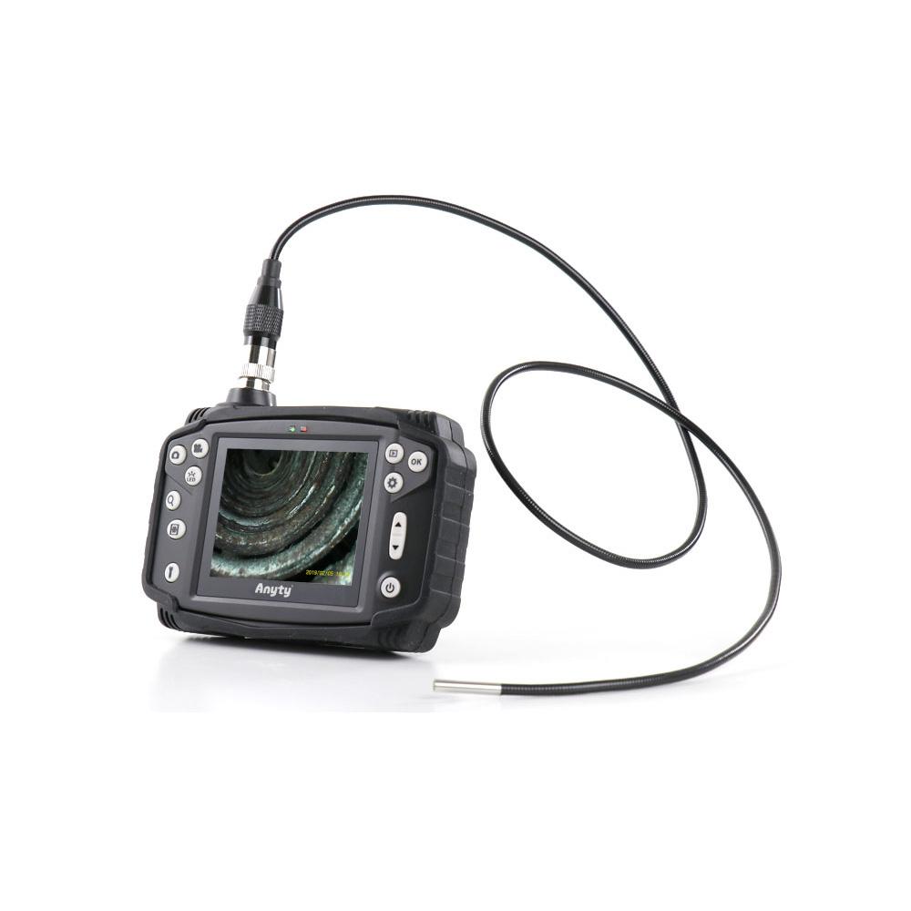 工業用内視鏡 φ3.7mm 1m ファイバースコープ 配管内部 検査 カメラ モニター付き 点検 作業 ケーブルカメラ つまり おすすめ 業務用 3R-VFIBER3710