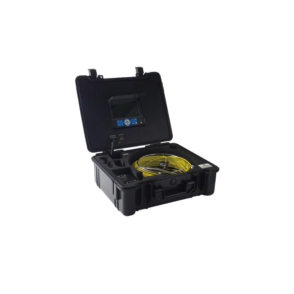 管内検査用カメラ Φ14mm 20m 工業用 配管内部 作業 点検 ケーブルカメラ 3R-FXS07-20M14 おすすめ 工業用 防塵