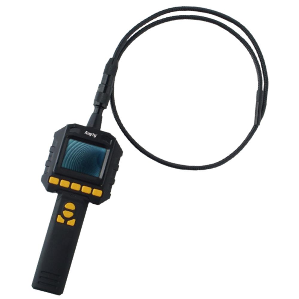 内視鏡 工業用 先端可動 フレキシブルスコープ 5.5φ×1.2m 工業用内視鏡 3R-FXS050-5512S 防水仕様 静止画 動画 内視鏡カメラ 狭い 暗い 水回り