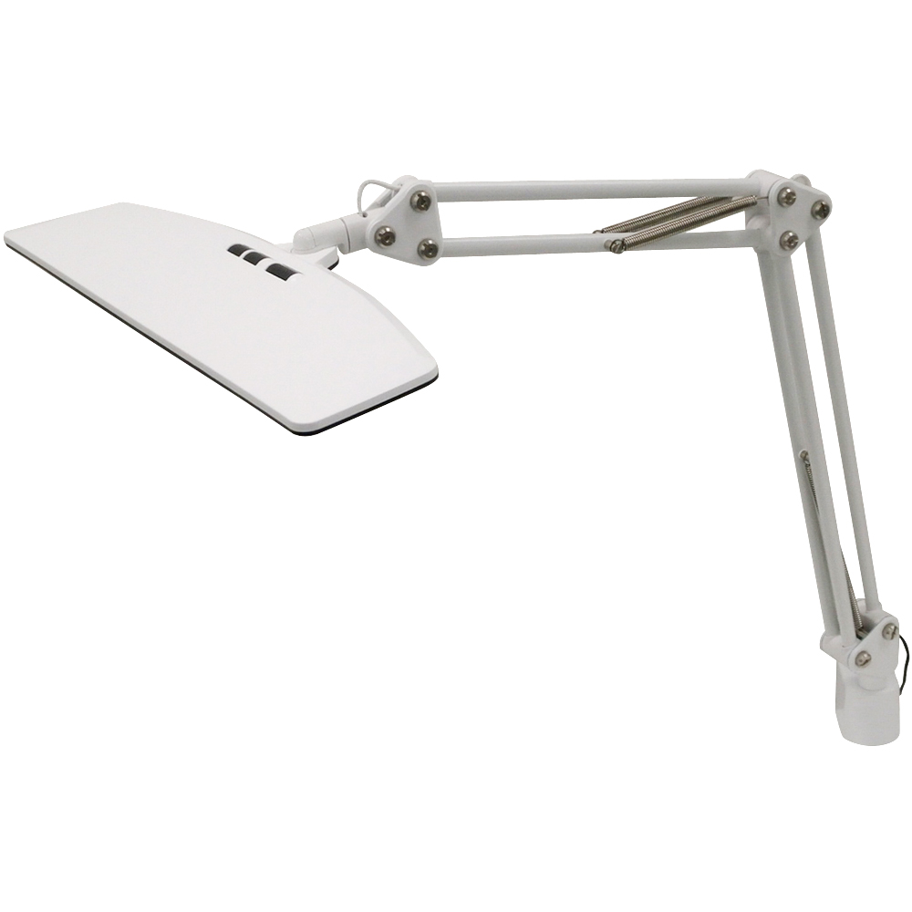 LUPINUS ルピナス 大型 LEDアームライト(白) EK-263 KOWA ledデスクライト デスクライト led ライト 照明 スタンド 勉強 子供 学習机 読書灯 おしゃれ 明るい 目に優しい おすすめ