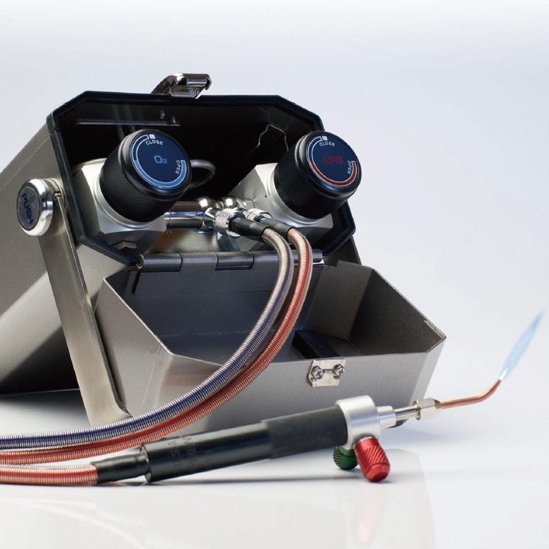 【20日限定クーポン配布中】ミニトーチ NT-PRO 小型溶接機 L13002 日本炭酸瓦斯 ロウ付け 工具 溶接 バーナー