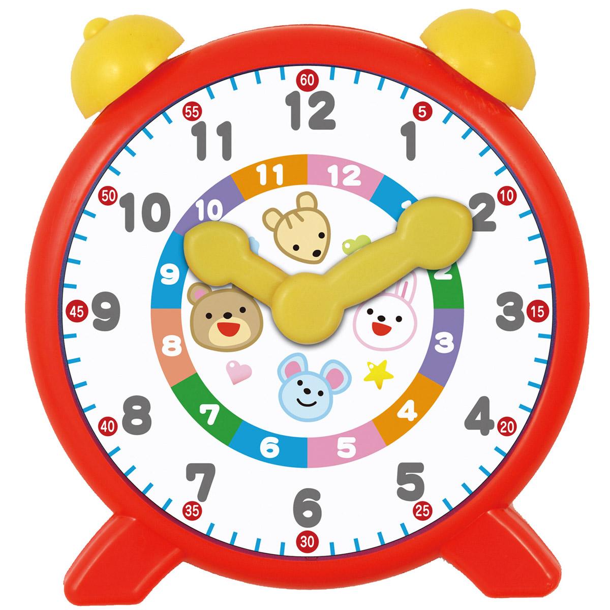 メール便可 子供 キッズ おもちゃ 幼児 学習 さんすう 時計 こどもの時計の勉強に はじめての時間あそび おじかんレッスン 時間 知育玩具でのびのび子育て 数え方 爆買い新作 子供の時計の勉強に 遊び 学習教材 小学生 新作多数 室内