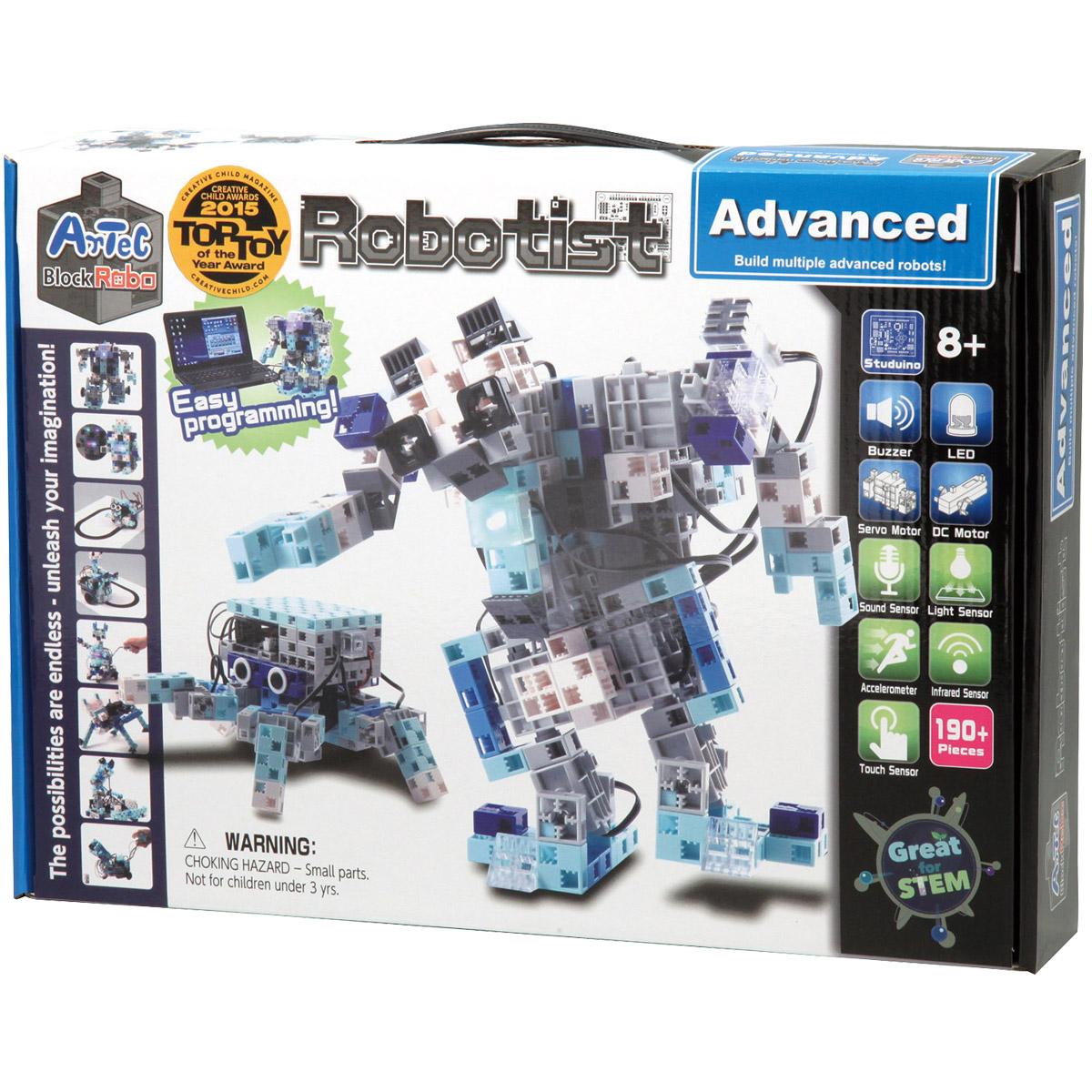 【20日限定クーポン配布中】【15日限定クーポン配布中】ブロック おもちゃ アーテックブロック ロボティスト アドバンス プログラミング 学習 日本製 ロボット Artec ブロック キッズ ジュニア パーツ 知育玩具 レゴ・レゴブロックのように自由に遊べます