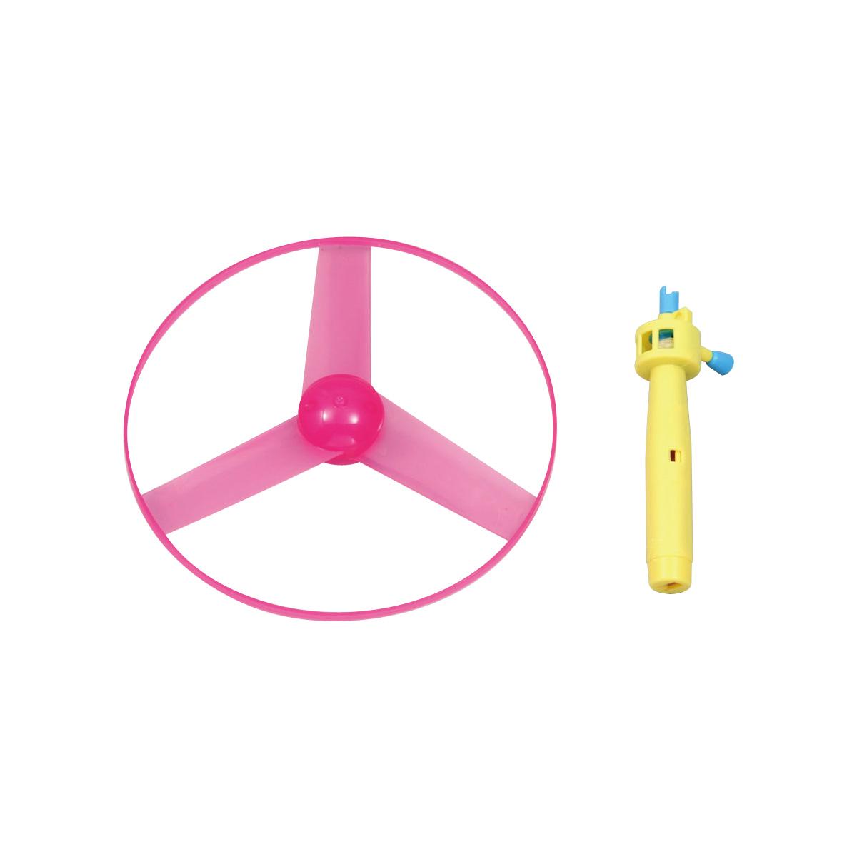【メール便可】 玩具 おもちゃ プロペラ タケコプター トンボプロペラ ひもを引っぱるだけでビュンと飛ぶ フライングソーサー ランダムカラー 玩具 おもちゃ プロペラ タケコプター トンボプロペラ 室内