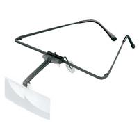 【5と0のつく日クーポン配布中】ラボ・フレーム [labo-med] フレーム + レンズ 1枚セット 2.5倍 眼鏡のように耳に掛ける フレームタイプ 両眼レンズ 164452 ヘッドルーペより気軽です エッシェンバッハ