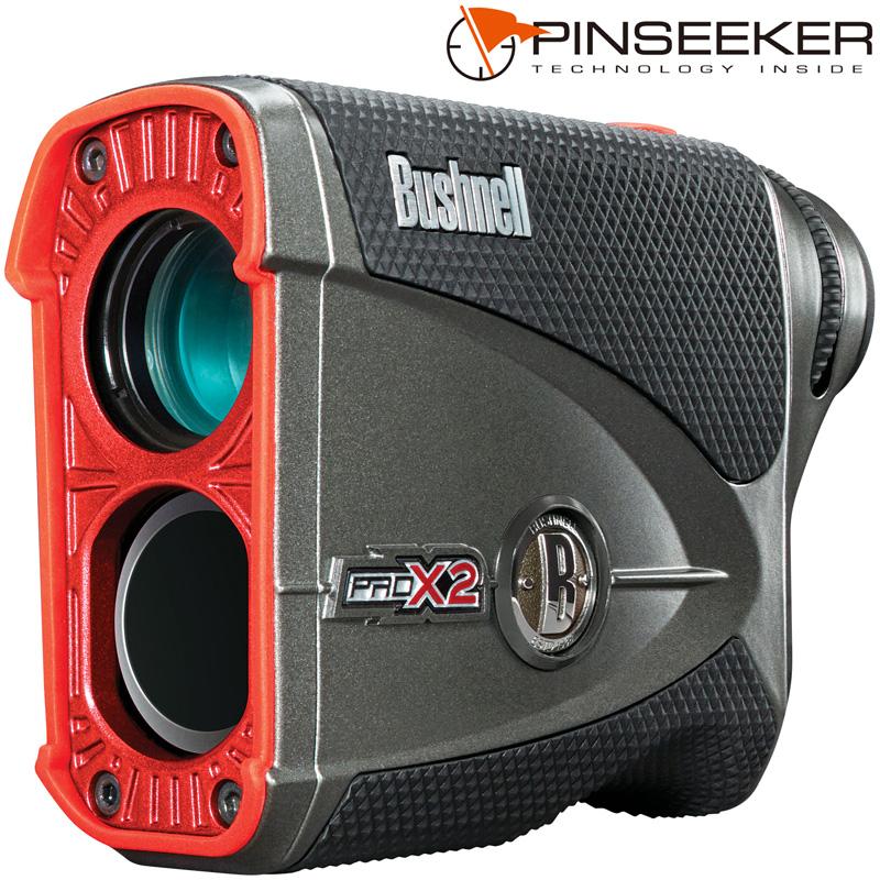 ピンシーカープロ X2ジョルト ゴルフ レーザー距離計 高低差 距離測定器 飛 距離 計測 器 ゴルフスコープ ゴルフレーザー [PINSEEKER PROX2 JOLT] Bushnell(ブッシュネル) おすすめ