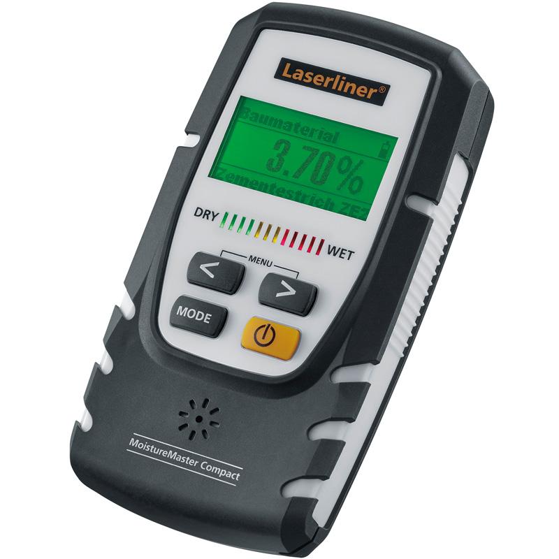 水分計 モイスチャーマスターコンパクト Laserliner UM082333A UMAREX 乾湿チェック 測定器 木材 資材 建築 石膏 メンテナンス ウマレックス
