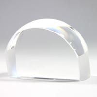 ペーパーウェイトルーペ 文鎮 上質 ガラス 虫眼鏡 虫めがね 置き型 デスク型 ルーペ 拡大鏡 クリスタル 新作通販 4倍 文字を拡大 池田レンズ 置くだけ 角型 1881 ギフトにぴったり 中 クリスタルガラス
