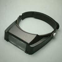 細かい作業に便利 新作販売 精密作業用のルーペ 検査用としても使える双眼ルーペ 双眼ヘッドルーペ BM-120A いよいよ人気ブランド ヘッドバンド式 1.8倍 池田レンズ
