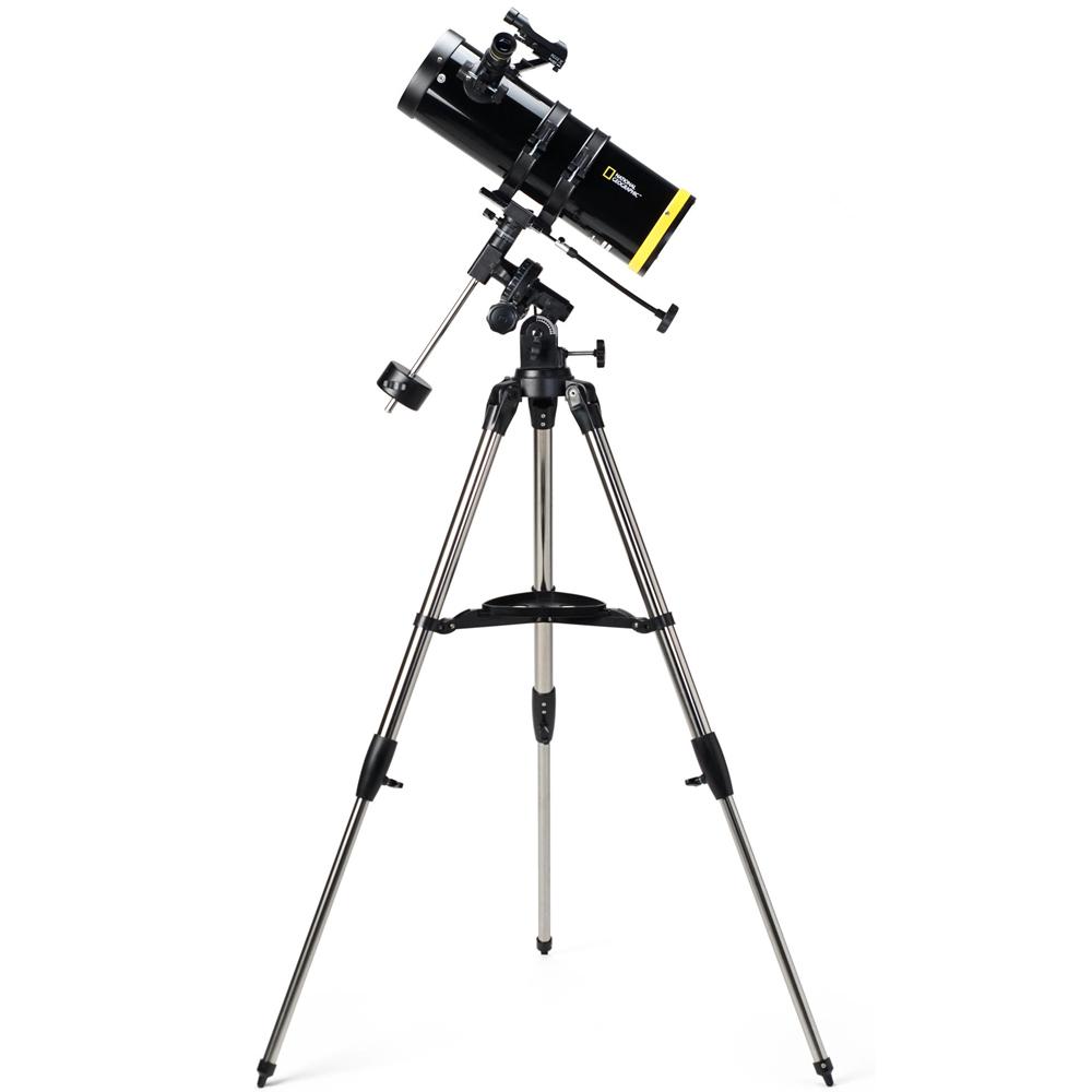 【お買い物マラソン クーポン配布中】天体望遠鏡 ナショナルジオグラフィック 口径114mm 80-10114 反射式 天体観測 赤道儀 ケンコー 子供 こども 初心者 おすすめ