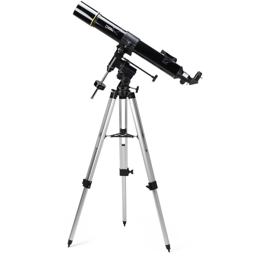 天体望遠鏡 小学生 入学祝い プレゼントにおすすめ 望遠鏡 天体観測 月 彗星 火星 惑星 天体望遠鏡 ナショナルジオグラフィック 口径90mm 90-70000 屈折式 天体観測 赤道儀 ケンコー 子供 こども 初心者 おすすめ