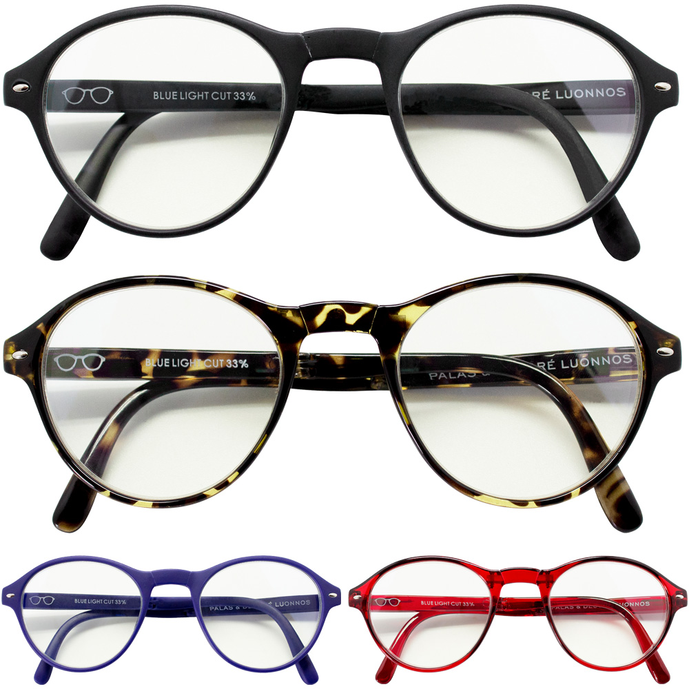 【定形外可】 パソコン眼鏡 めがね かわいい 女の子 コンパクト 折り畳み プレゼント ギフト CALMO 折りたたみ PCメガネ パソコンメガネ ブルーライトカット ボストン型 カルモ レディース メンズ uvカット おすすめ おしゃれ