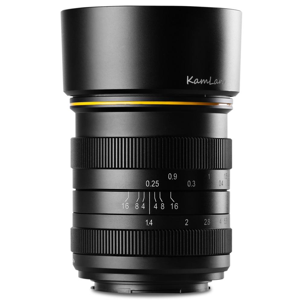 ミラーレス一眼 カメラ 交換レンズ 単焦点レンズ FS 28mm F1.4 キヤノンEF-M canon ソニーE sony フジフィルム Fuji X マイクロフォーサーズ MFT KAMLAN カムラン