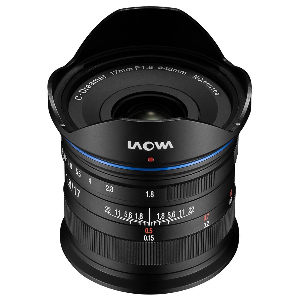 一眼レフ カメラ 交換レンズ LAOWA 17mm F1.8 MFT LAO0049 ドローン 空撮 ポートレート 風景 マイクロフォーサーズ
