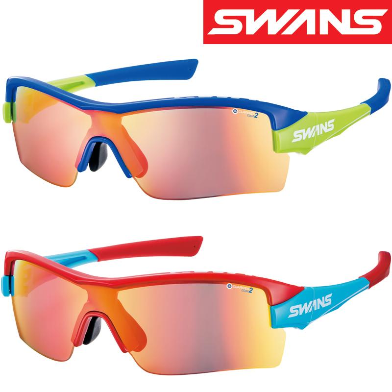【20日限定クーポン配布中】[限定モデル]スポーツサングラス FZ STRIX・H 撥水 ミラーレンズ FZ-STRIX H-4001 UV 紫外線カット サングラス メンズ おすすめ 人気 SWANS スワンズ
