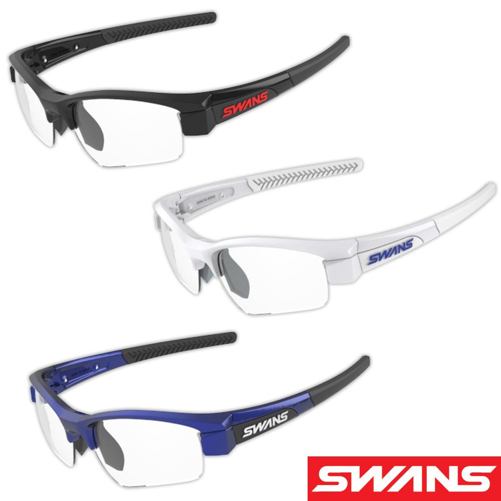 【お買い物マラソン クーポン配布中】サングラス両面クラリテックスコートレンズ 透明 スポーツ メンズ レディース LION SIN Compact フレーム+L-LI SIN-C-0412 CLA 撥水加工 おすすめ 人気 SWANS スワンズ