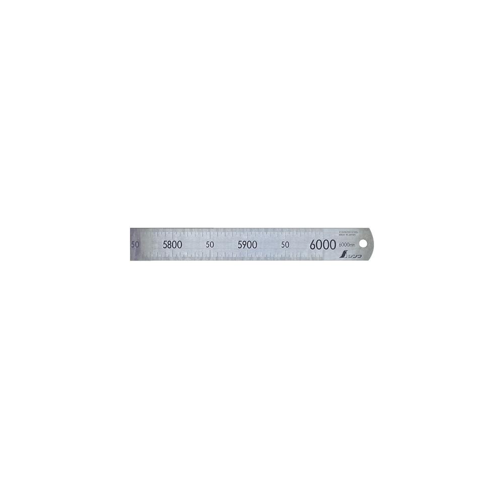 直尺 ステン 6m 14109 ステンレス ステン スケール 定規 シンワ測定