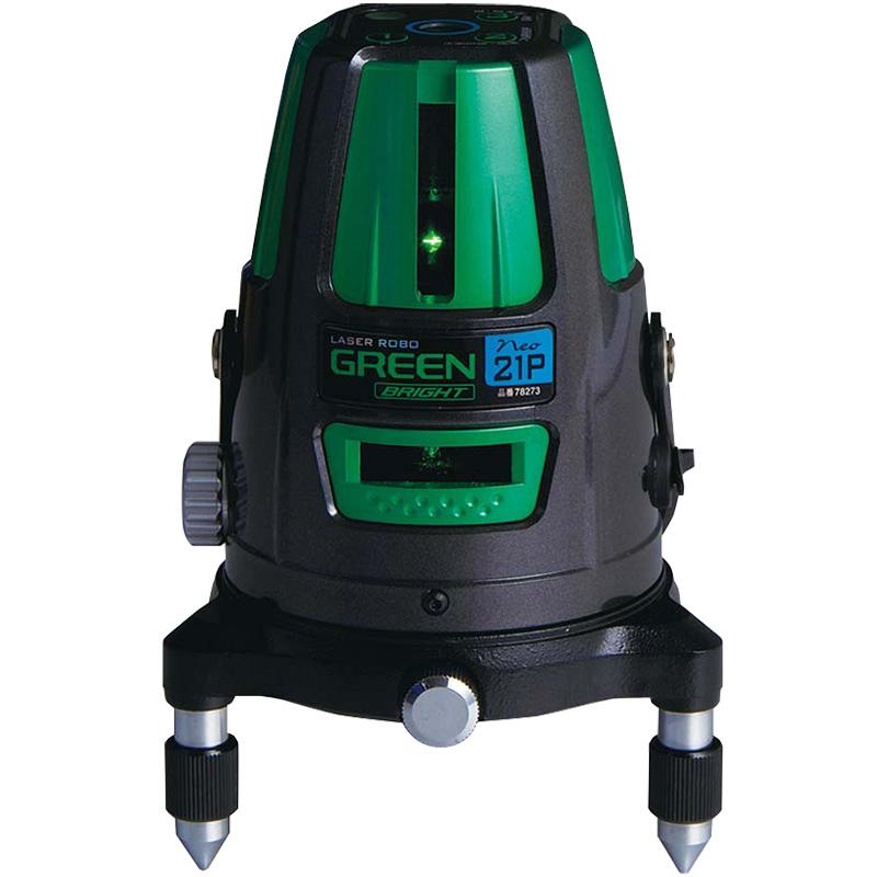 レーザーロボグリーン Neo21PBRIGHT 縦・横・天墨・地墨 78273 シンワ測定 レーザー 光学機器 建築 土木 測量 測定器 測量用品