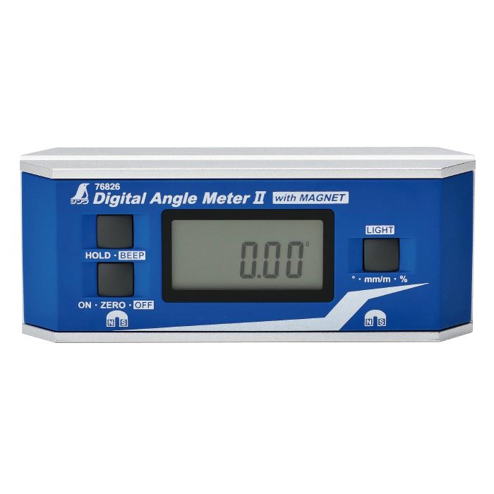 デジタルアングルメーター II 角度 防塵防水 II マグネット付 レベル 水平器 傾斜 傾斜 角度 シンワ測定, ROSEGRAY:05857740 --- sunward.msk.ru