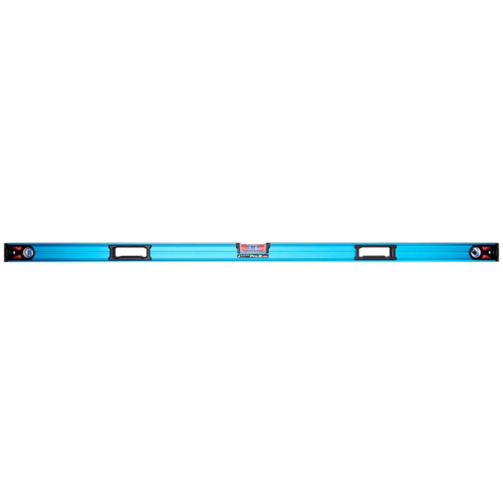 シンワ測定 水平器 おすすめ 気泡管 精度 角度 水準器 マグネット付 73386 ブルーレベル Pro 2 1500mm