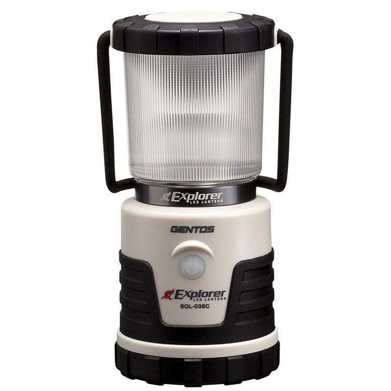 GENTOS LEDランタン エクスプローラー013C SOL-013C ランタン LED ジェントス アウトドア 灯り 防災 懐中電灯