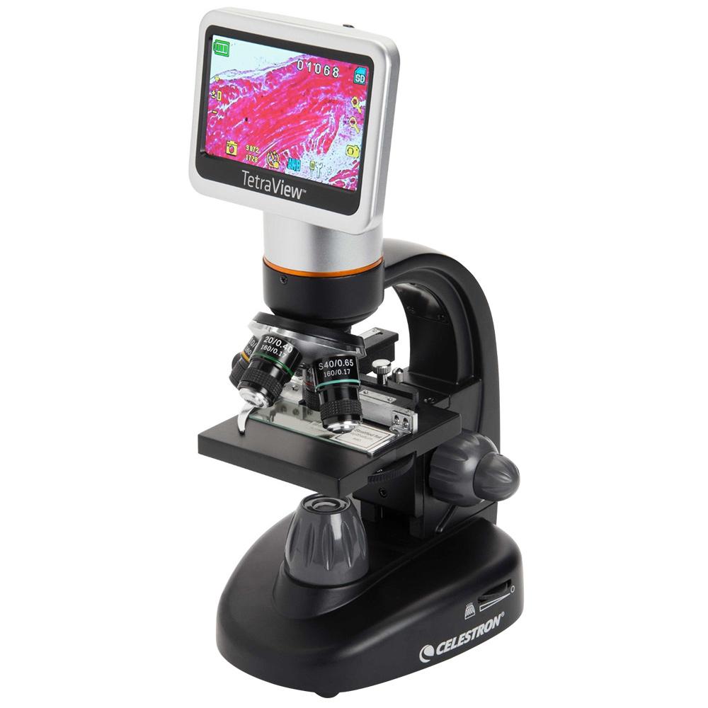 セレストロン 顕微鏡 TetraView LCD デジタル顕微鏡 CELESTRON マイクロスコープ 画像 動画 撮影