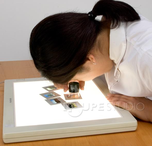 用放大鏡檢查玻璃放大鏡 3010 10 × 30 毫米高倍率放大鏡池田透鏡放大鏡