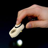 插座放大鏡 LED 燈放大鏡 4 & 6 & 10 x 23 毫米袖珍放大鏡可擕式滑放大鏡放大鏡池田鏡頭 48%