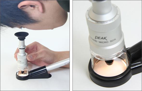 放大鏡顯微鏡峰峰值站顯微鏡 50 x 東海工業 [放大鏡] 站放大鏡放大鏡站顯微鏡顯微鏡站放大鏡