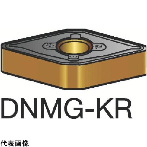 サンドビック T-Max P 旋削用ネガ・チップ 3210 [DNMG 15 06 12-KR 3210] DNMG150612KR 10個セット 送料無料