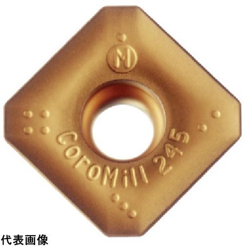 サンドビック コロミル245用チップ K20W [R245-12 T3 M-KM K20W] R24512T3MKM 10個セット 送料無料