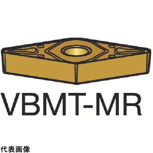サンドビック コロターン107 旋削用ポジ・チップ 1105 [VBMT 16 04 08-MR 1105] VBMT160408MR 10個セット 送料無料