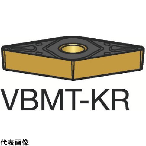 サンドビック コロターン107 旋削用ポジ・チップ 3205 [VBMT 16 04 08-KR 3205] VBMT160408KR 10個セット 送料無料