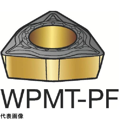 サンドビック コロターン111 旋削用ポジ・チップ 5015 [WPMT 04 02 04-PF 5015] WPMT040204PF 10個セット 送料無料