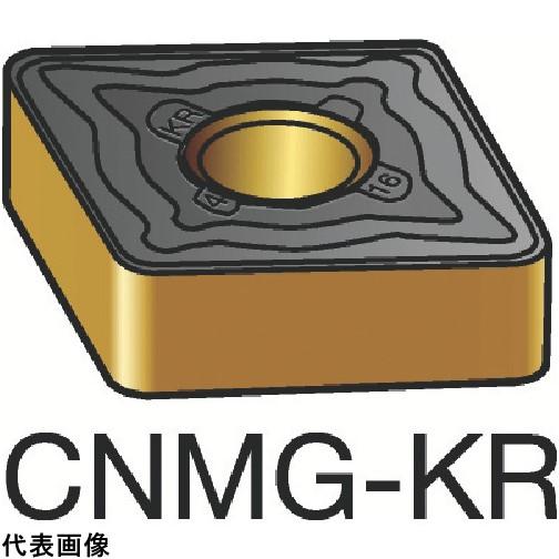 サンドビック T-Max P 旋削用ネガ・チップ 3205 [CNMG 12 04 08-KR 3205] CNMG120408KR 10個セット 送料無料