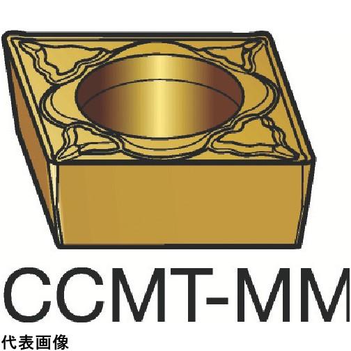 サンドビック コロターン107 旋削用ポジ・チップ 2025 [CCMT 09 T3 04-MM 2025] CCMT09T304MM 10個セット 送料無料