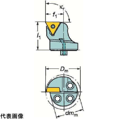 サンドビック コロターンSL コロターン107用カッティングヘッド [570-STFCR-40-16] 570STFCR4016 販売単位:1 送料無料