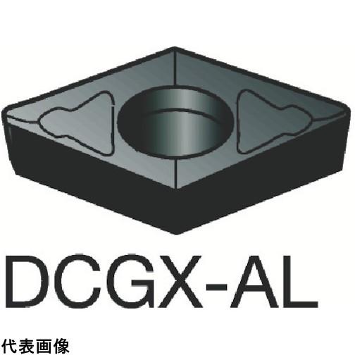 サンドビック コロターン107 旋削用ポジ・チップ H10 [DCGX11T302-AL H10] DCGX11T302AL 10個セット 送料無料