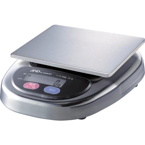 A&D 防塵・防水デジタルはかりウォーターボーイ皿寸法174×137mm [HL3000LWP] HL3000LWP 販売単位:1 送料無料