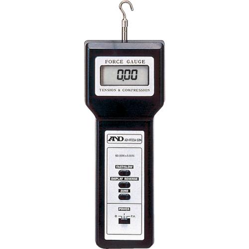 A&D デジタルフォースゲージ引張・圧縮対応 [AD4932A-50N] AD4932A50N 販売単位:1 送料無料