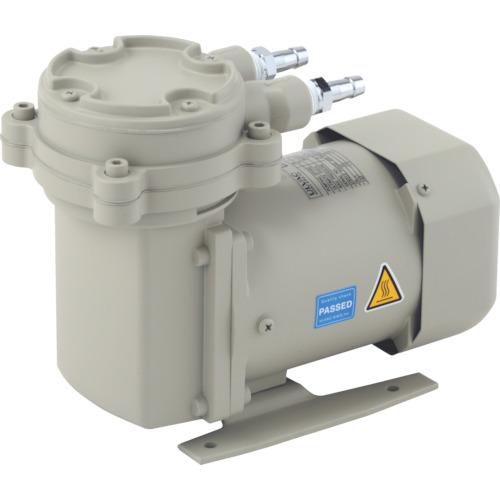 ULVAC 単相100V ダイアフラム型ドライ真空ポンプ 全幅115mm [DAP-15] DAP15 販売単位:1 送料無料
