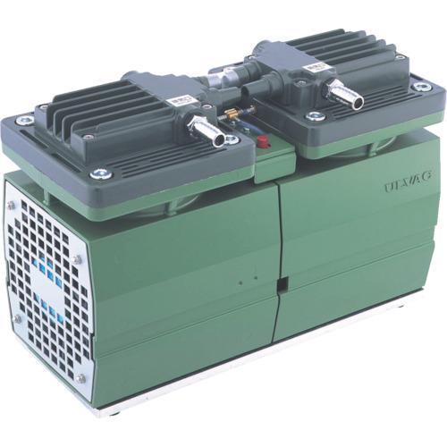 ULVAC 単相100V ダイアフラム型ドライ真空ポンプ 全幅156mm [DA-60D] DA60D 販売単位:1 送料無料