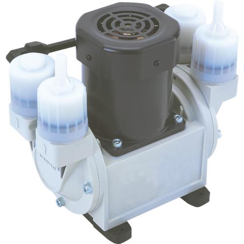 ULVAC 単相100V ダイアフラム型ドライ真空ポンプ 排気速度12/15 [DA-15D] DA15D 販売単位:1 送料無料