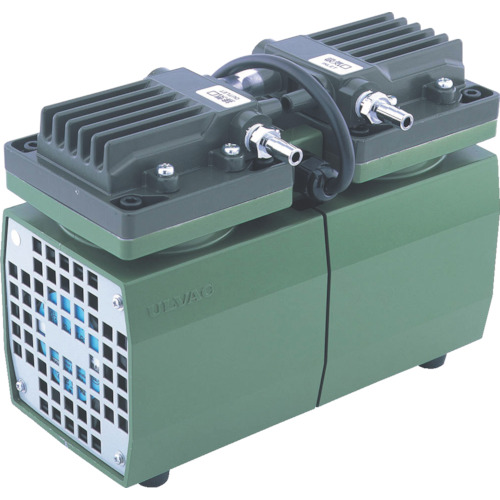 ULVAC 単相100V ダイアフラム型ドライ真空ポンプ [DA-20D] DA20D 販売単位:1 送料無料