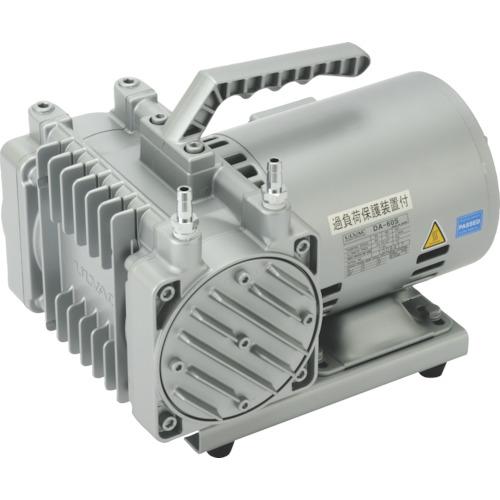 ULVAC 単相100V ダイアフラム型ドライ真空ポンプ 排気速度60/72 [DA-60S] DA60S 販売単位:1 送料無料