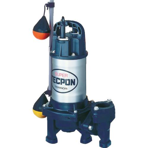 寺田 汚物混入水用水中ポンプ 自動 60Hz [PXA-400T 60HZ] PXA400T 販売単位:1 送料無料