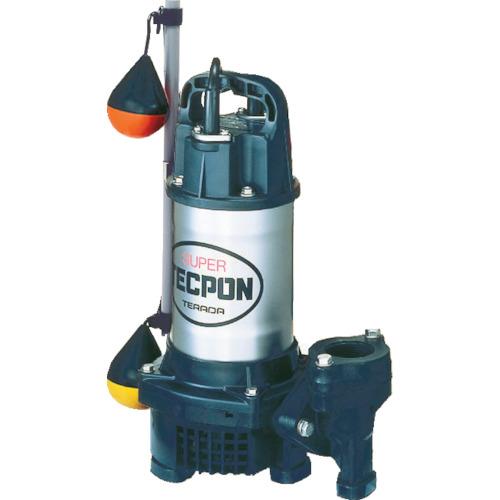 寺田 汚水用水中ポンプ 自動 60Hz [PGA-750 60HZ] PGA750 販売単位:1 送料無料