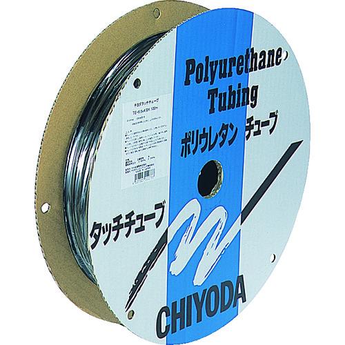 チヨダ TPタッチチューブ 6mmX100m 黒 [TP-6X4.0-100 BK] TP6X4.0100 販売単位:1 送料無料
