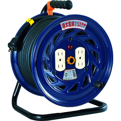 日動 電工ドラム 標準型100Vドラム 極太3.5[[MM2]]ケーブル2芯 30m [NF-304F] NF304F 販売単位:1 送料無料