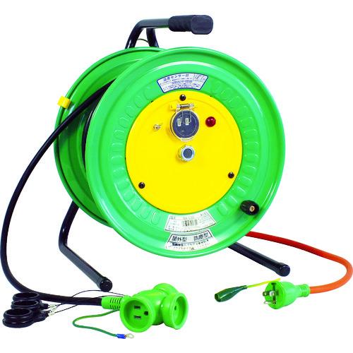 日動 電工ドラム 防雨防塵型びっくリール100V アース付 30m [RBW-E30S] RBWE30S 販売単位:1 送料無料
